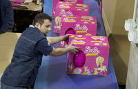 Bez języka praca w Anglii na produkcji przy pakowaniu zabawek od zaraz Londyn