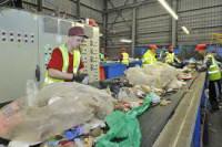 Oferta fizycznej pracy w Anglii bez języka sortowanie śmieci Birmingham