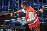 Fizyczna praca Holandia przy naprawie i renowacji palet, Tilburg 2018