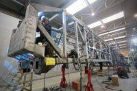 Spawacz MAG 135 – Czechy praca przy produkcji wagonów kolejowych, Česká Lípa
