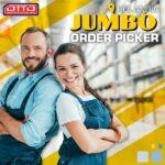 Bez języka praca w Holandii na magazynie JUMBO od zaraz w 's-Hertogenbosch