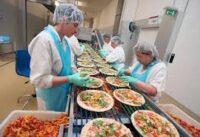 Dam pracę w Niemczech bez języka dla par na produkcji pizzy od zaraz fabryka Berlin